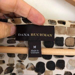 Dana Buchman Tops - Dana Buchman Watercolor Pebble Print Top